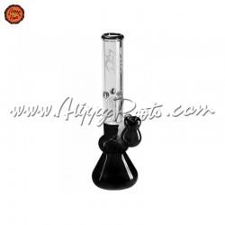 Bongo Vidro Gelo Black Leaf 4-Arm Tree Perkolator 30cm