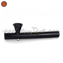 Cachimbo Black Leaf Shotgun Preto 15cm