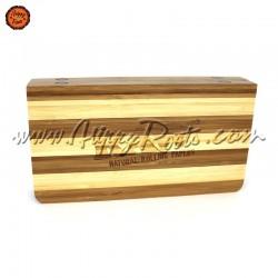 Caixa Tabuleiro RAW Bambu Back Flip Striped c/Iman