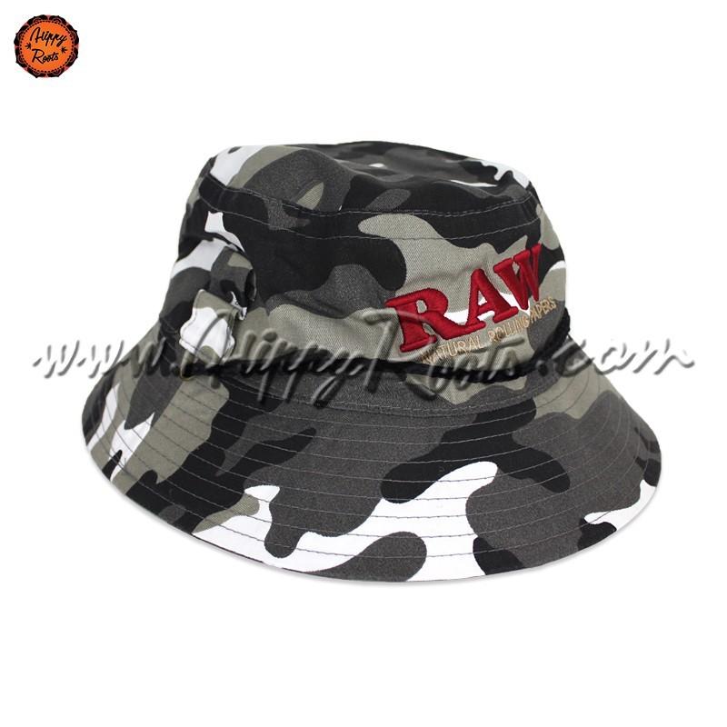Chapeu RAW Smokerman's Bucket Hat Camuflado
