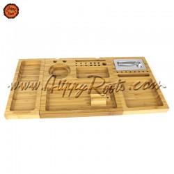 Caixa Tabuleiro RAW Bambu Triple Flip