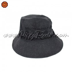 Chapeu RAW Bucket Hat Rolling Papers Cinza