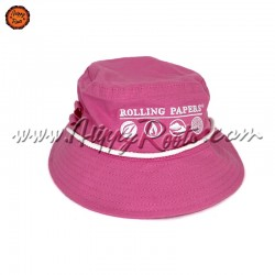 Chapeu RAW Bucket Hat Rolling Papers Rosa