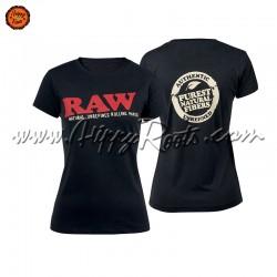 T-shirt RAW Mulher Gola...