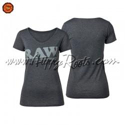 T-shirt RAW Cinzenta Mulher...