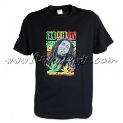 T-shirt Bob Marley Cannabis